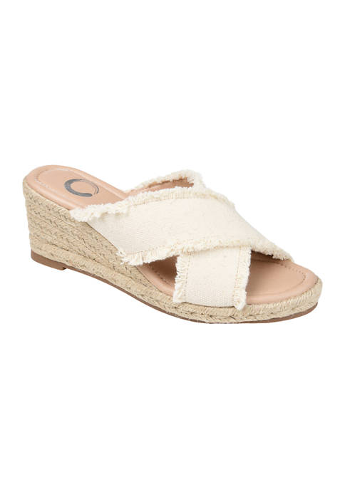 Journee Collection Comfort Foam™ Shanni Wedge Sandals