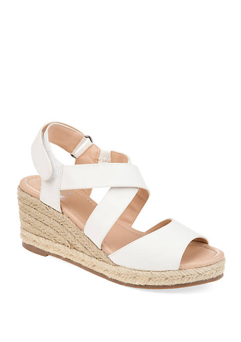 Journee Collection Comfort Spencer Wedge Shoes