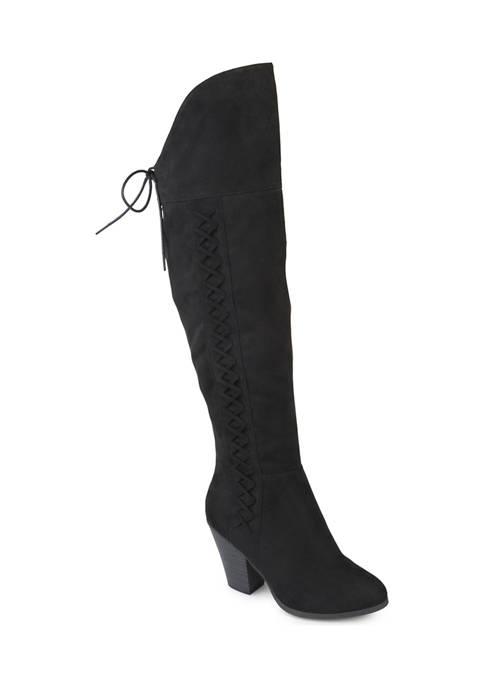 Journee Collection Wide Calf Spritz-S Boots