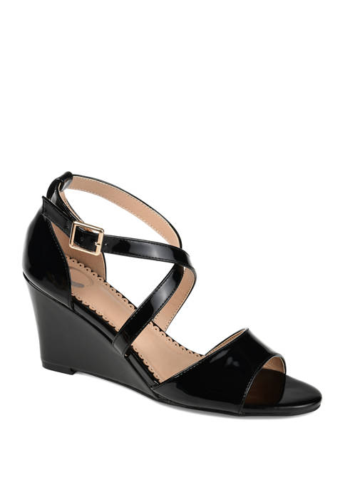 Journee Collection Stacey Wedge Sandals