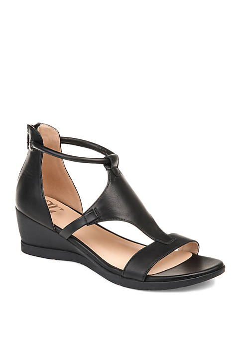 Journee Collection Trayle Wedge Sandals