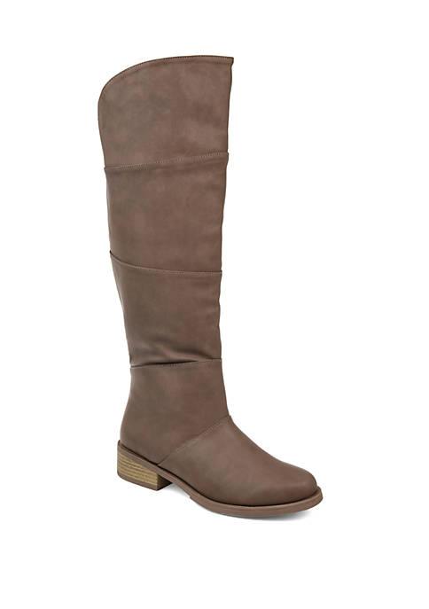Journee Collection Comfort Wide Calf Vanesa Boots