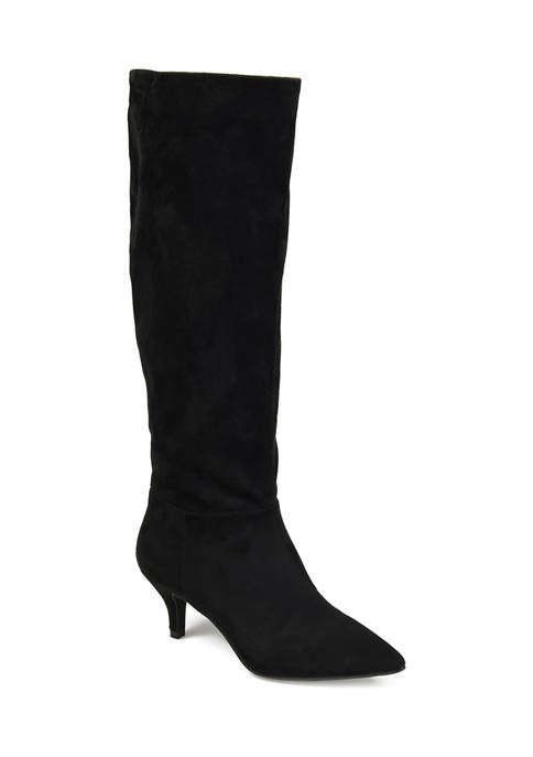 Journee Collection Wide Calf Vellia Boots