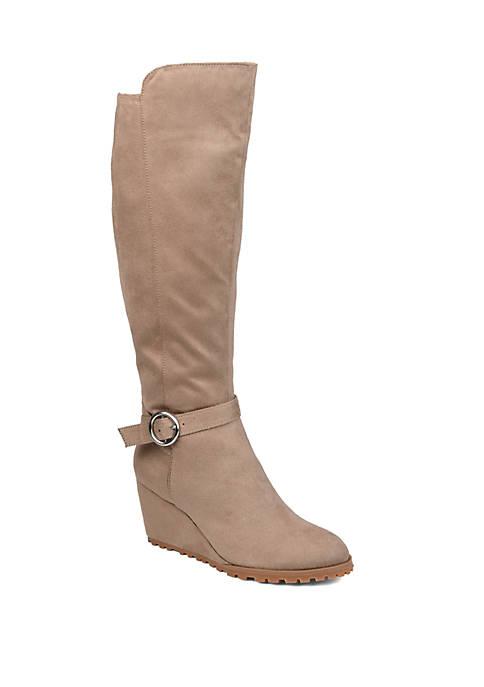 Journee Collection Comfort Wide Calf Veronica Boots