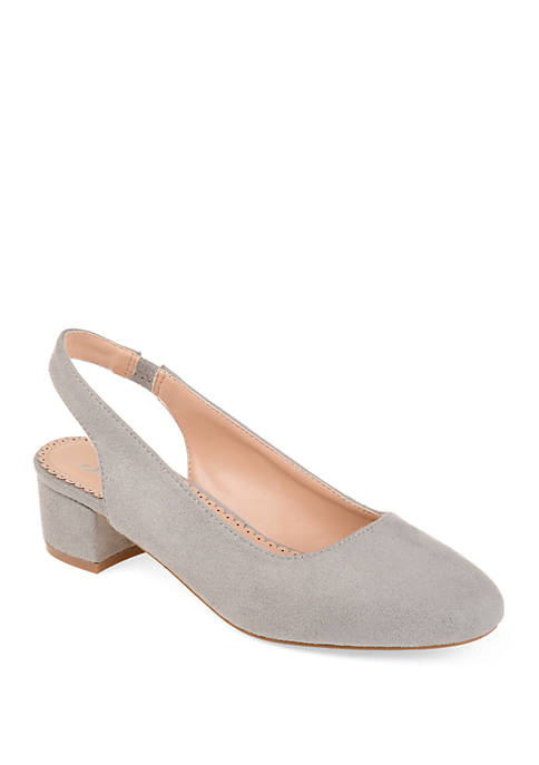 Journee Collection Zippy Pumps
