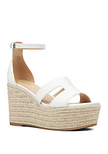 Nine West Adelyn Espadrille Wedge Sandals