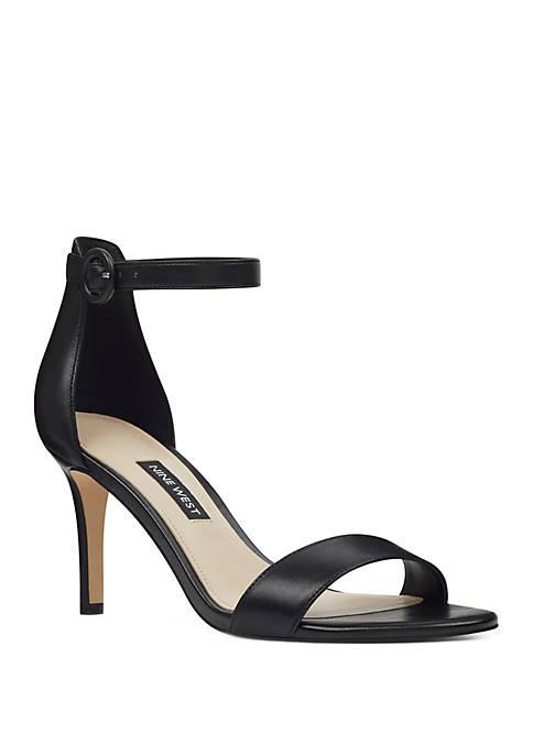Nine West Aission Slim Heel Sandals