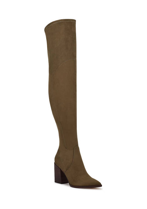 Barret Over The Knee Heeled Boots