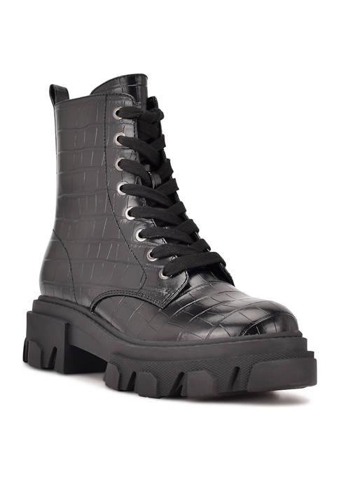 Clover Lug Sole Boots