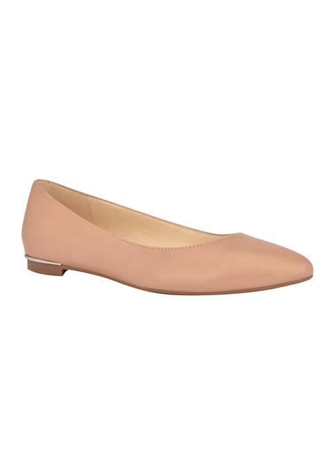 Corrine Pointed Toe Ballet Flats