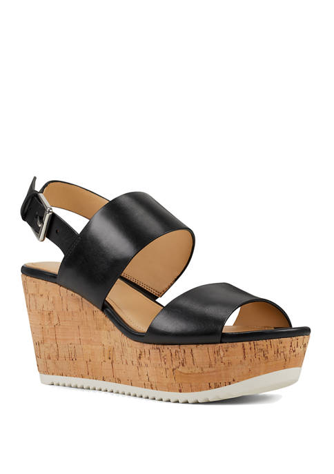 Nine West Dera Wedge Sandals