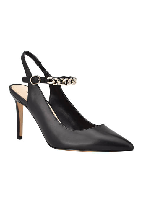 Evea Pointy Toe Slingback Pumps