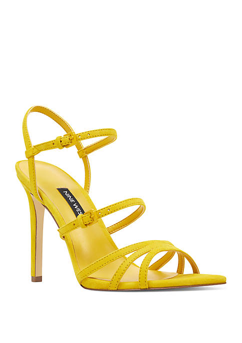 Gilficco Strappy Pointed Toe Dress Sandals