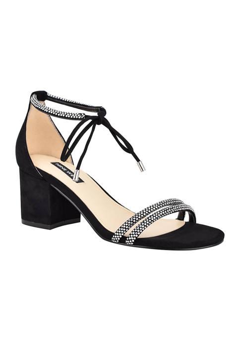 Nine West Keiko Ankle Tie Dress Sandals