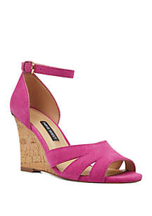 853fb7ec8868 ... Nine West Lily Wedge Sandals