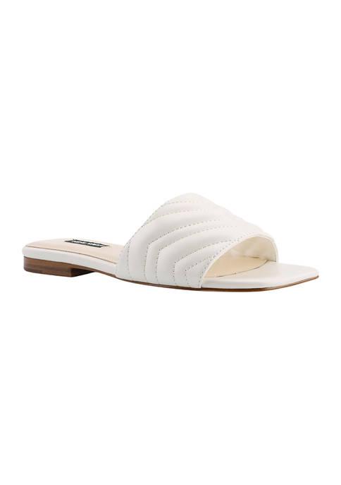 Mends Flat Slide Sandals