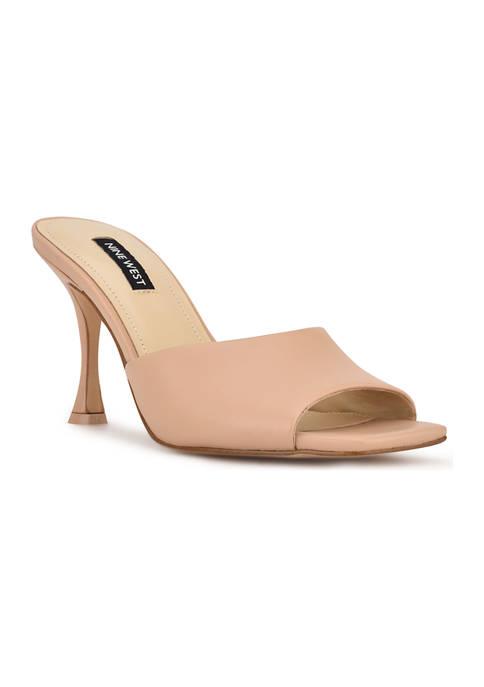 Perfact Heeled Slide Sandals