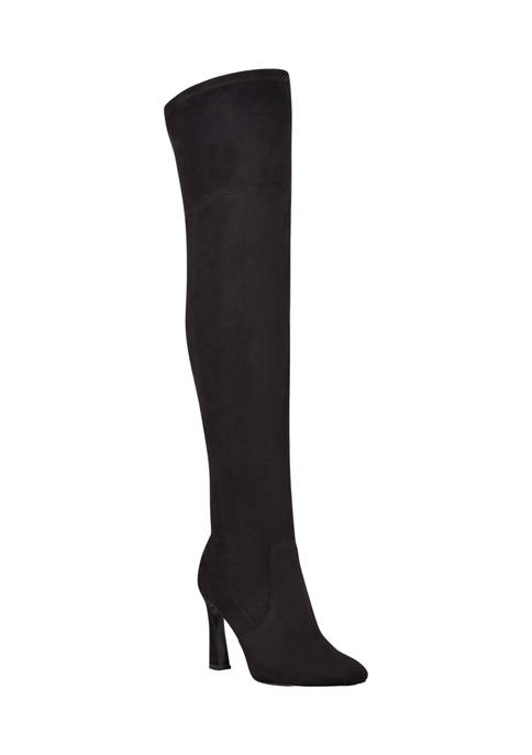 Sizzle Over The Knee Heel Boots