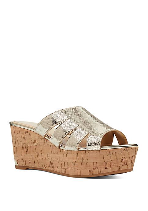 Victoria Flatform Sandals