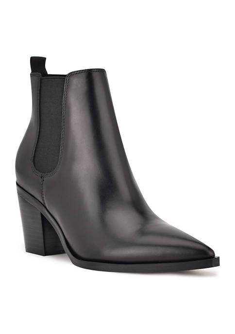 Wyllis Block Heel Booties