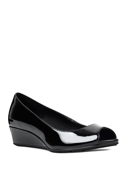 Bandolino Candra Open Toe Wedge Shoes
