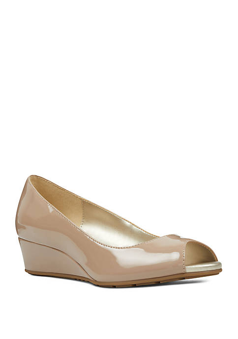 Candra Open Toe Wedge Shoes