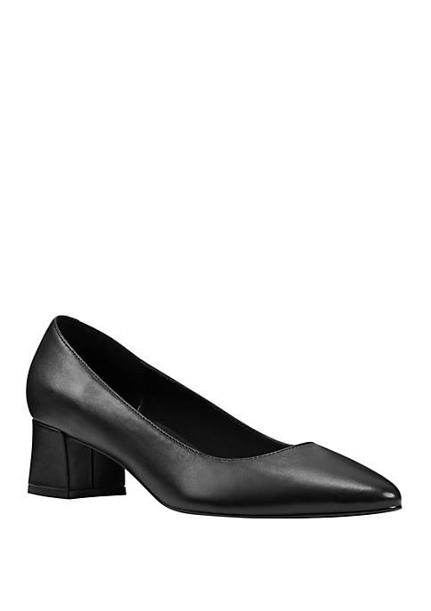 Womens Aleth Block Heel Shoes