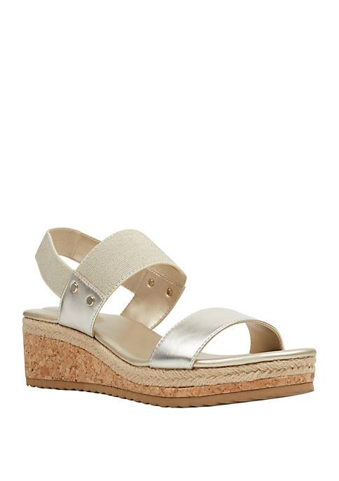 Grace Cork Wedge Sandals