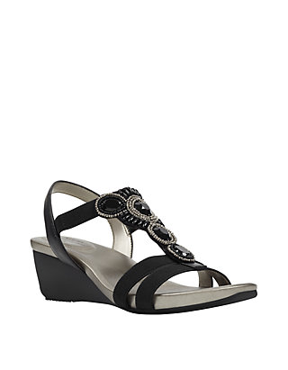 c66a920af Bandolino Hambly Wedge Sandals