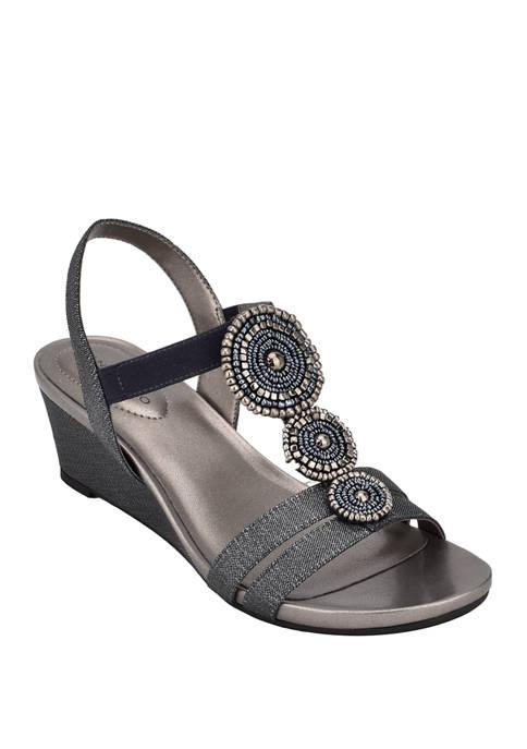 Bandolino Izumi Wedge Sandals