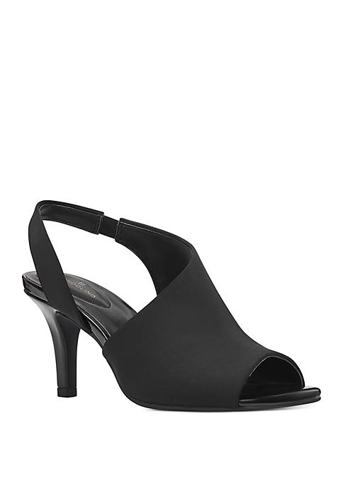 Bandolino Masiey Asymmetrical Sling Sandals
