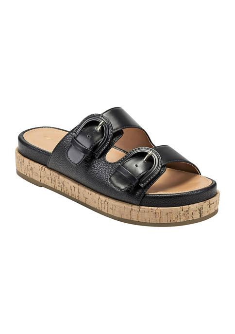 Bandolino Merla Slip-On Flatform Sandals