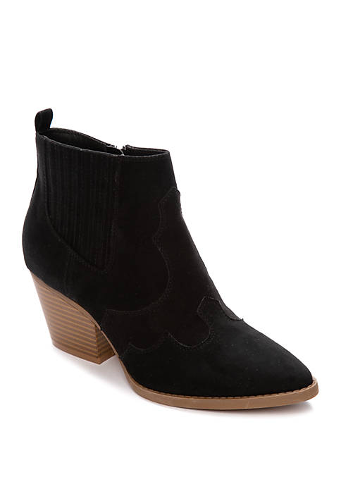 Charlie Faux Suede Booties