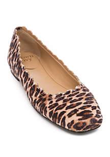 Crown & Ivy™ Venice Leopard Flats