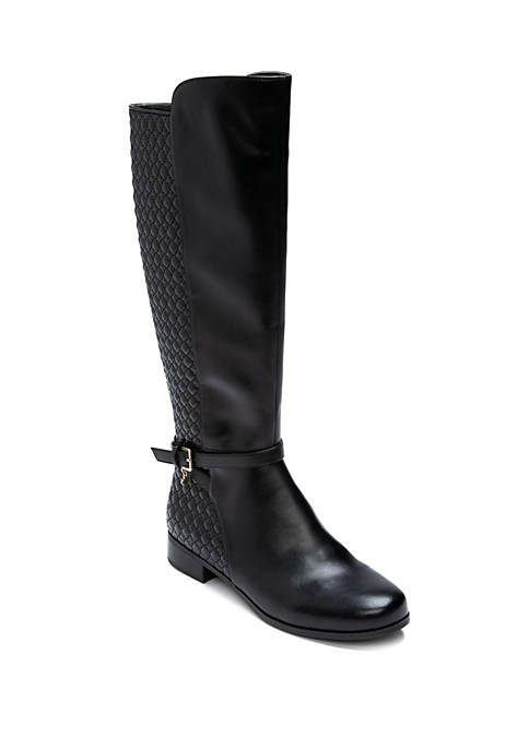 Crown & Ivy™ Lily Quilted Riding Boots