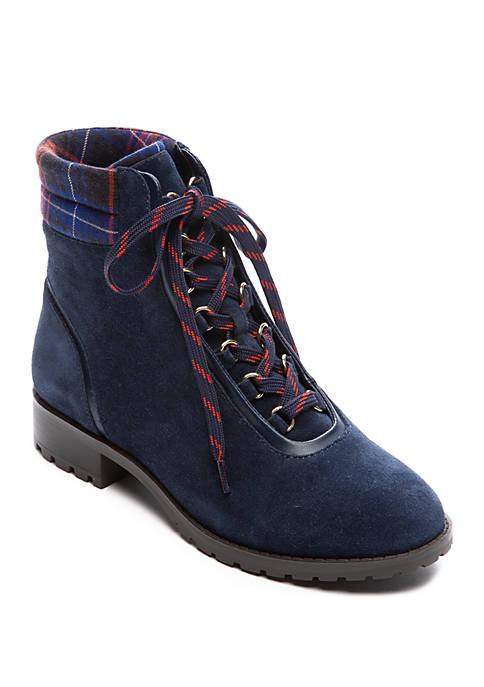 June Lace Up Boots