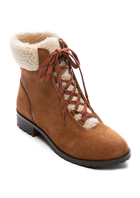 Crown & Ivy™ June Sherling Boots
