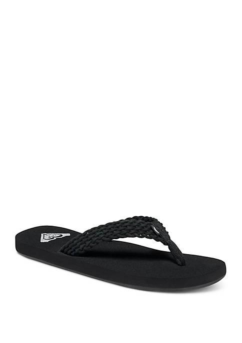 Roxy Porto II Flip Flop Slippers