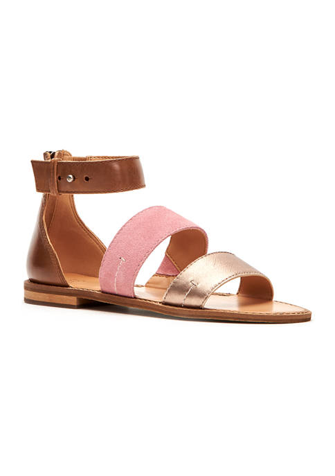 Frye & Co. Evie 2 Band Sandals