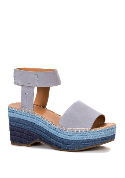 Frye & Co. Amber Espadrille Wedge Sandals