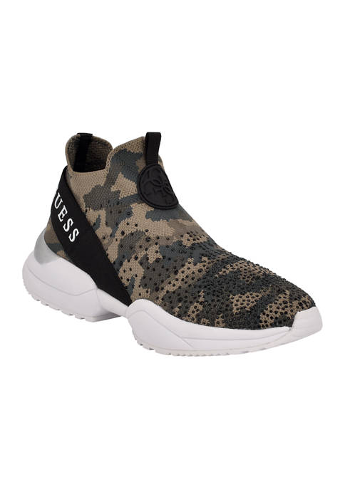 Guess Bellini Stretch Knit Sneakers