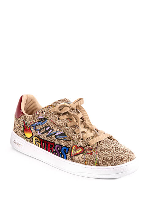 Guess Crayza Lace Up Sneakers