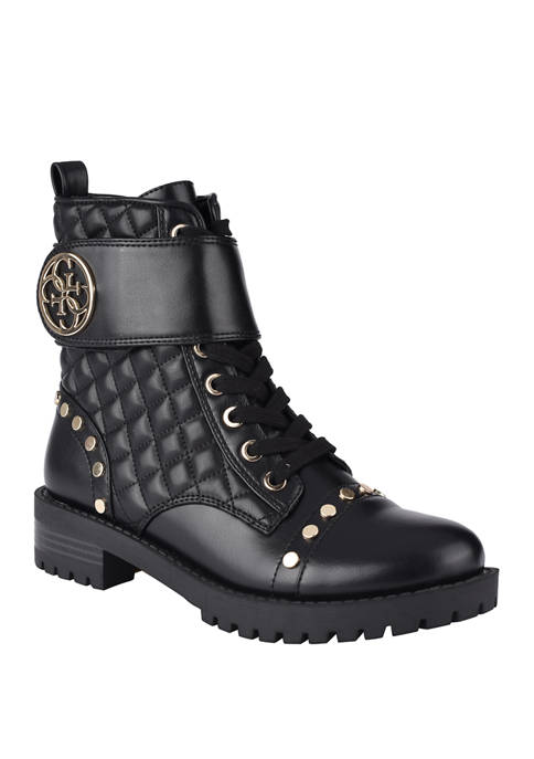 GUESS Heathir Lace Up Booties
