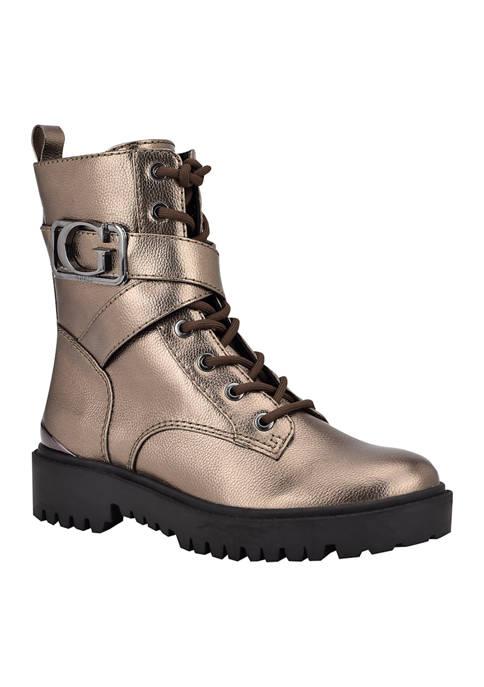 Guess Orana Combat Boots