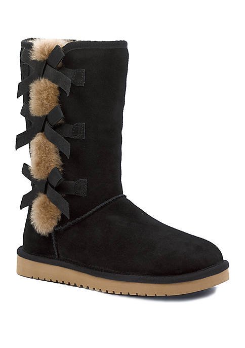 Victoria Tall Bow Boots