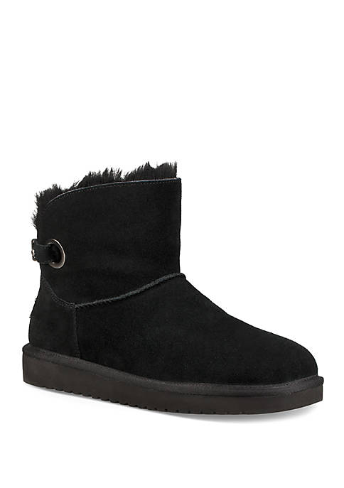 Remely Mini Buckle Boots