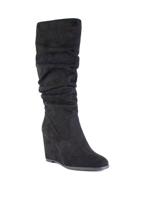 Jewel Wedge Boots