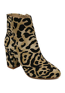 Band of Gypsies Andrea Pillar Heel Ankle Boots