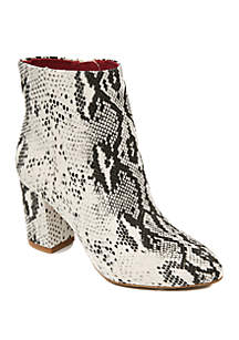 Band of Gypsies Andrea Pillar Heel Ankle Booties