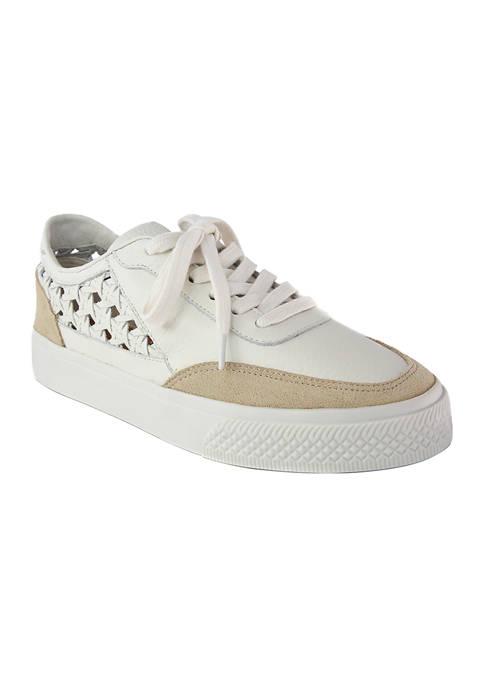 Belinda Woven Panel Sneakers